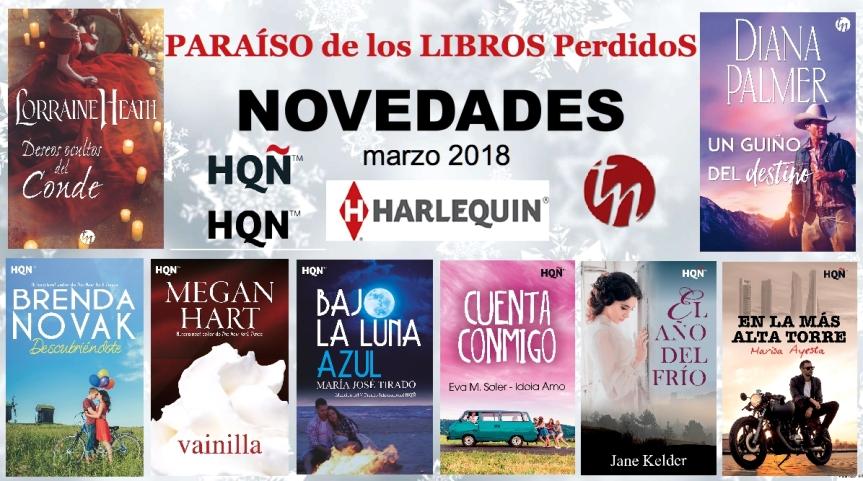 Novedades Harlequin – Marzo2018