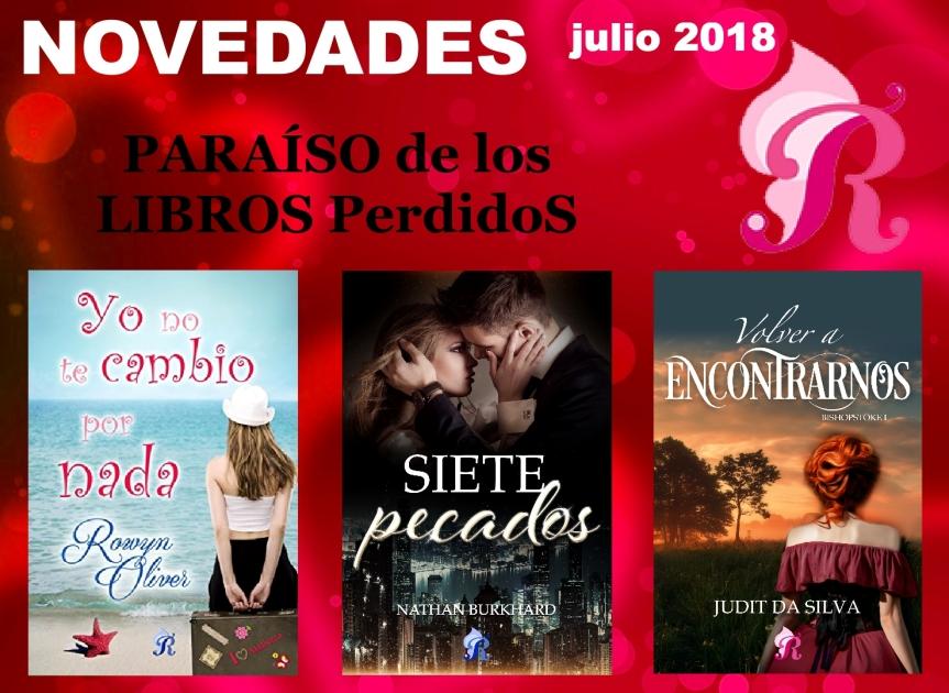 Novedades Romantic Ediciones – Julio2018